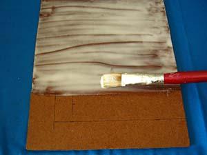 encolado soporte para pintar al óleo