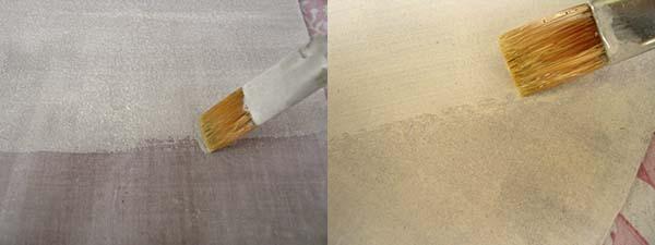 imprimación soporte para pintar al óleo