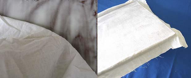 pegar tela en soporte para pintar al oleo