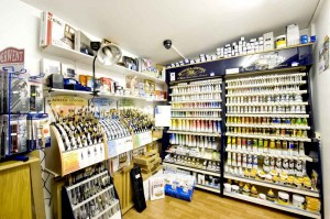 tienda de materiales para pintar al oleo