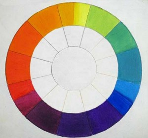 Rueda de colores al oleosecundarios y terciarios
