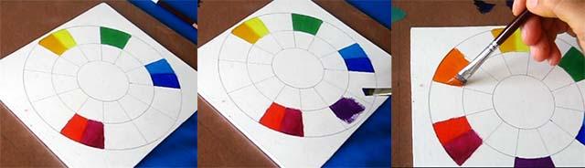 colores secundarios pintar oleo