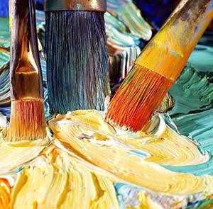 cuidado pinceles para pintar al oleo