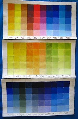 mis primeras cartas de colores