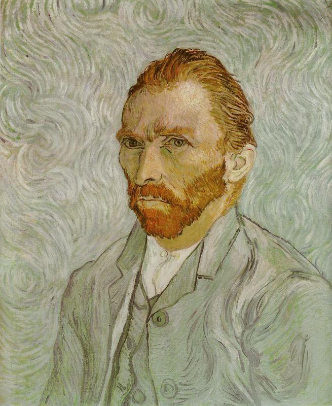 Autoretrato setiembre de 1889 Van Gogh 1889