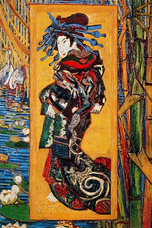 Japoneria Oiran Van Gogh 1887