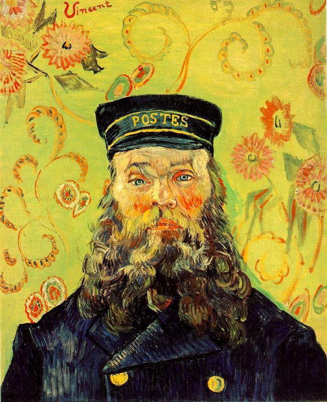 Joseph Etienne Roulin Van Gogh 1889