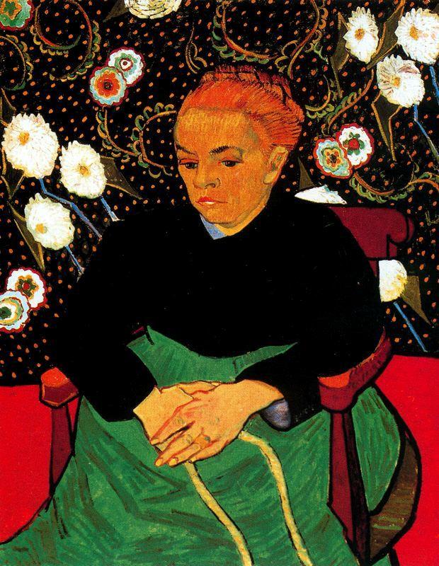 La mecedora Van Gogh 1889