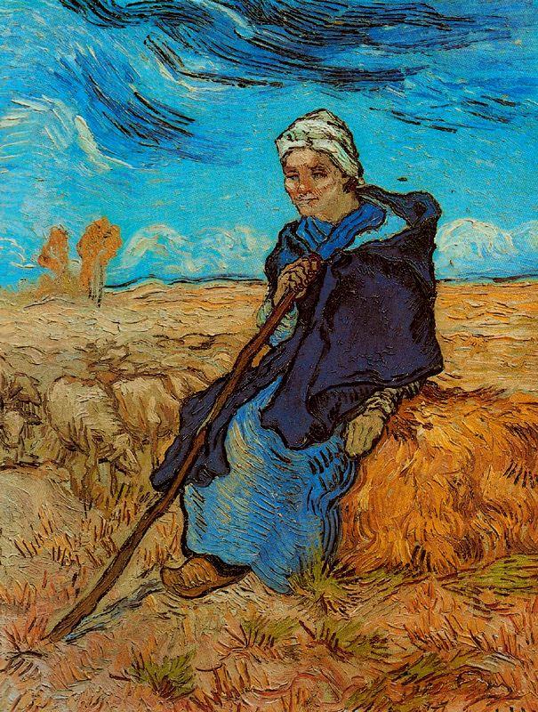 La pastora Van Gogh 1889