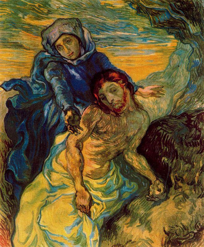 La piedad Van Gogh 1889