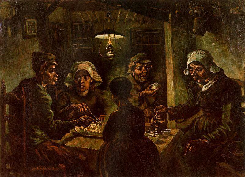 Los comedores de patata Van Gogh1885