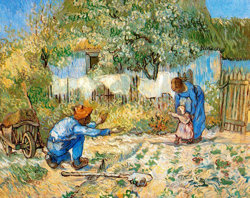 Primeros pasos Van Gogh 1889