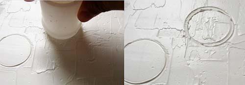 textura planetas en pasta para modelar