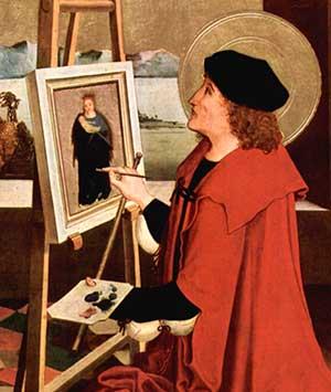 San Lucas con el tiento en la mano Niclaus Manuel Deutsch