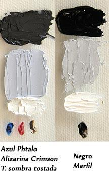 phtalo-alizarina-crimson-sombra-tostada-negro