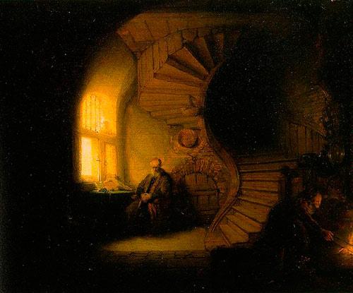 claroscuro efecto de misterio manejando las luces y sombras