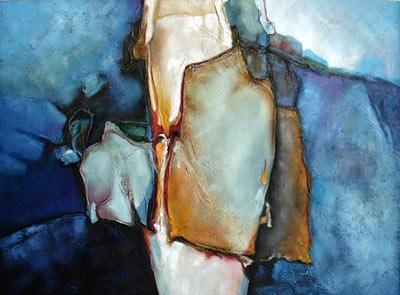 pintura moderna abstracta
