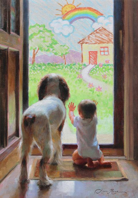 Encontrar inspiración para pintar en los niños