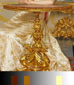 vittorio-reggianini-the-unseen-audience-detalle-pintar-color-oro