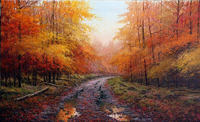 Pintar paisajes de otono