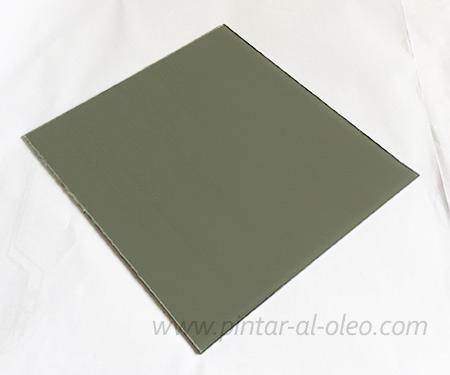 Paleta de vidrio gris