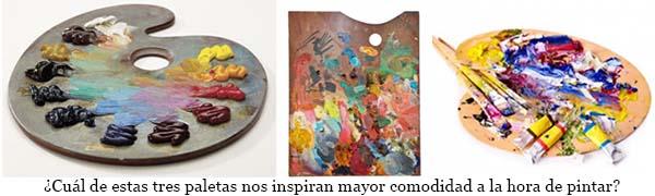Organizar el taller y paleta de pintar pintar al leo - Mezcla de colores para pintar ...