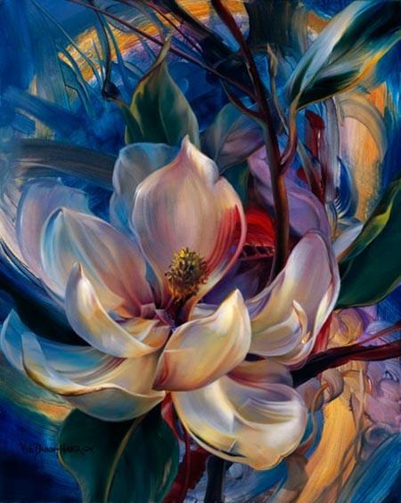 Como Pintar Flores Pintar Al óleo