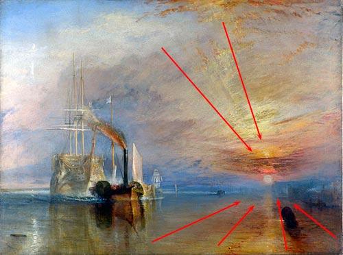 Composición Artística De Cuadros Impactantes Pintar Al óleo