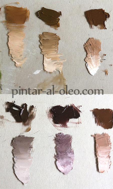 Cómo hacer color café o marrón con pintura | Pintar al óleo