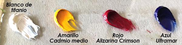 Como Hacer Color Cafe O Marron Con Pintura Pintar Al Oleo - Como-obtener-el-color-marron